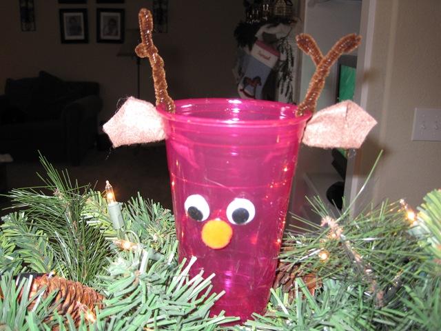 Paper Cup Rudolf