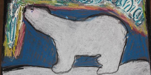 Winter Craft Arctic Polar Bear Craft Confessions Of A Homeschooler