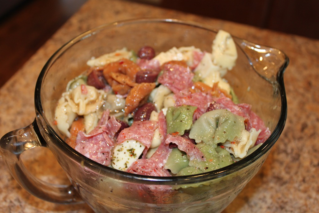 Tortellini Antipasto Salad Recipe
