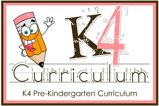 K4 Kindergarten Curriculum Giveaway!