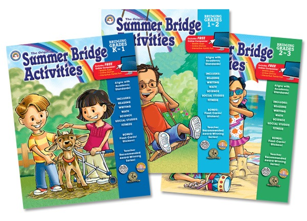 Carson Dellosa Summer Bridge Review & Giveaway!
