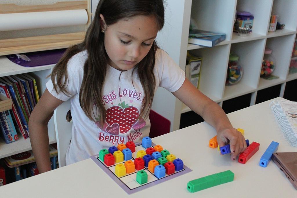 Living Math Ideas: Unifix Sudoku