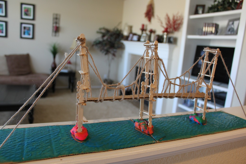 Delaware Memorial Bridge Kids Craft