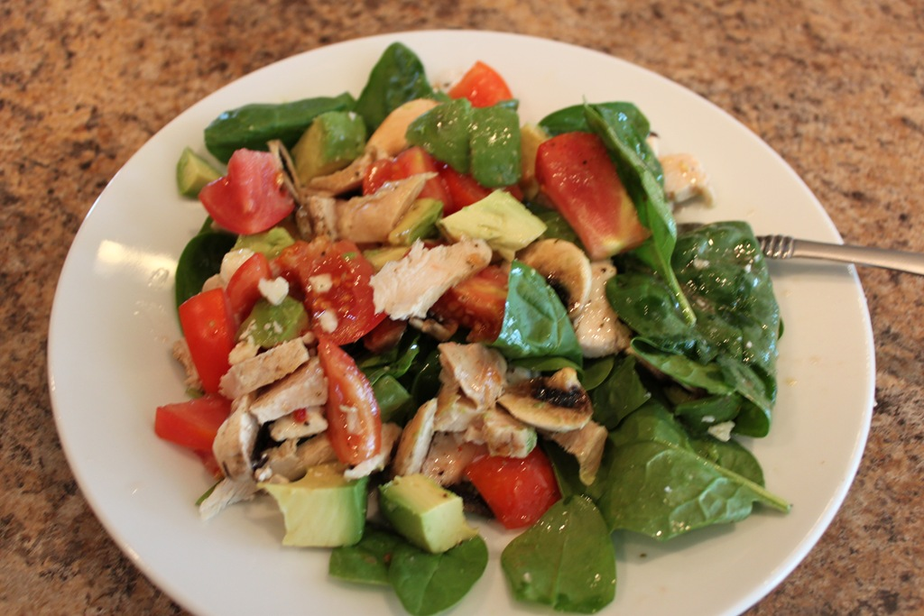 Grilled Chicken Salad Recipe for Mom!