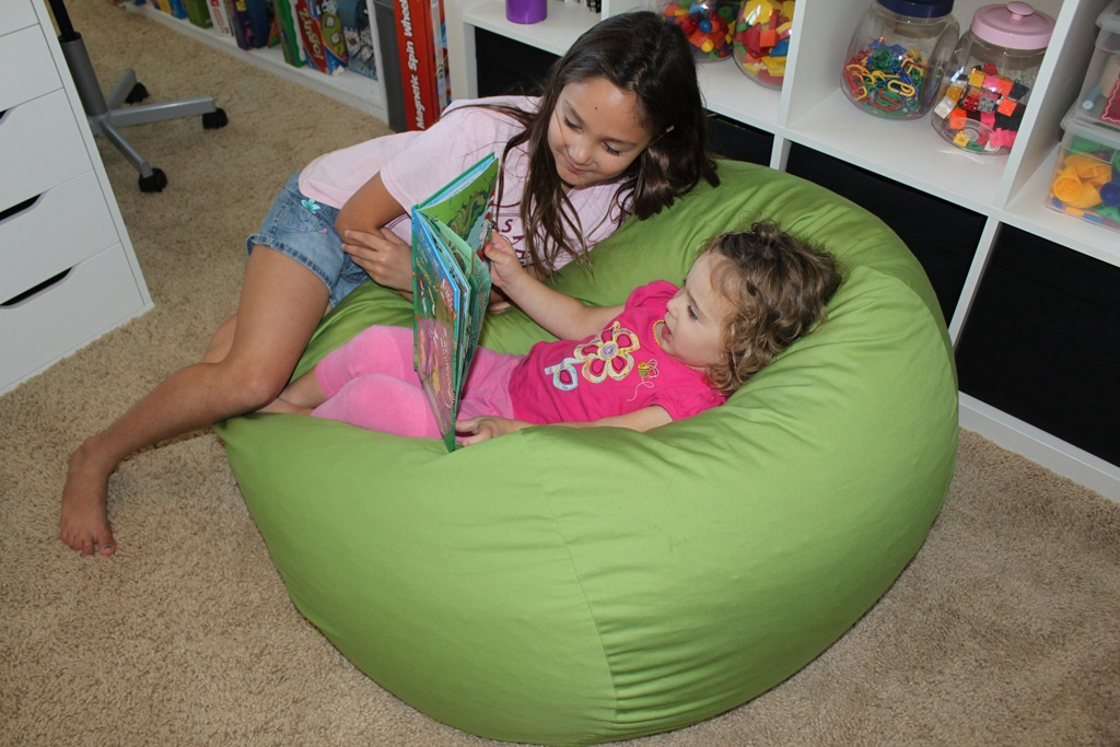 Sensational Ahh Bean Bag Review Confessions Of A Homeschooler Bralicious Painted Fabric Chair Ideas Braliciousco
