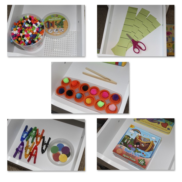 Workbox Activities for Toddlers