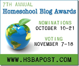 7th Annual Homeschool Blog Awards!