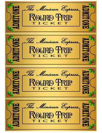 Polar Express Tickets Template Printable 2013 mini-van express night ...
