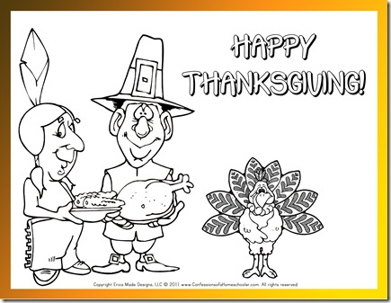 Thanksgiving Preschool FREE Printables