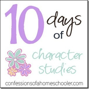 10 Days of Character Studies: Day 3