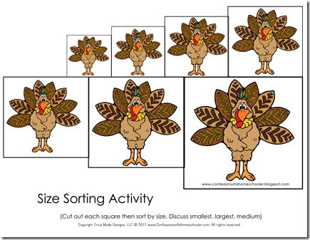 thanksgiving preschool free printables confessions of a homeschooler. Black Bedroom Furniture Sets. Home Design Ideas