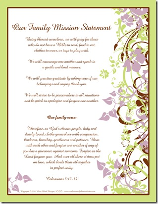 Mission Statement Template Free  Resume Ideas  NamanasaCom