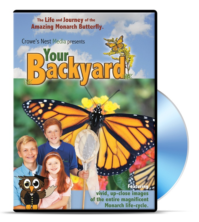 Backyard Butterfly DVD