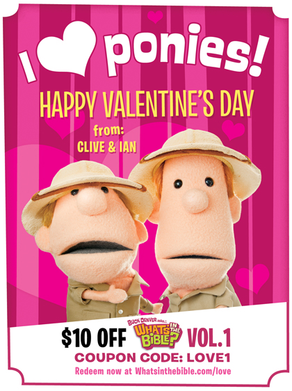 What's in the Bible Valentines Coupon!