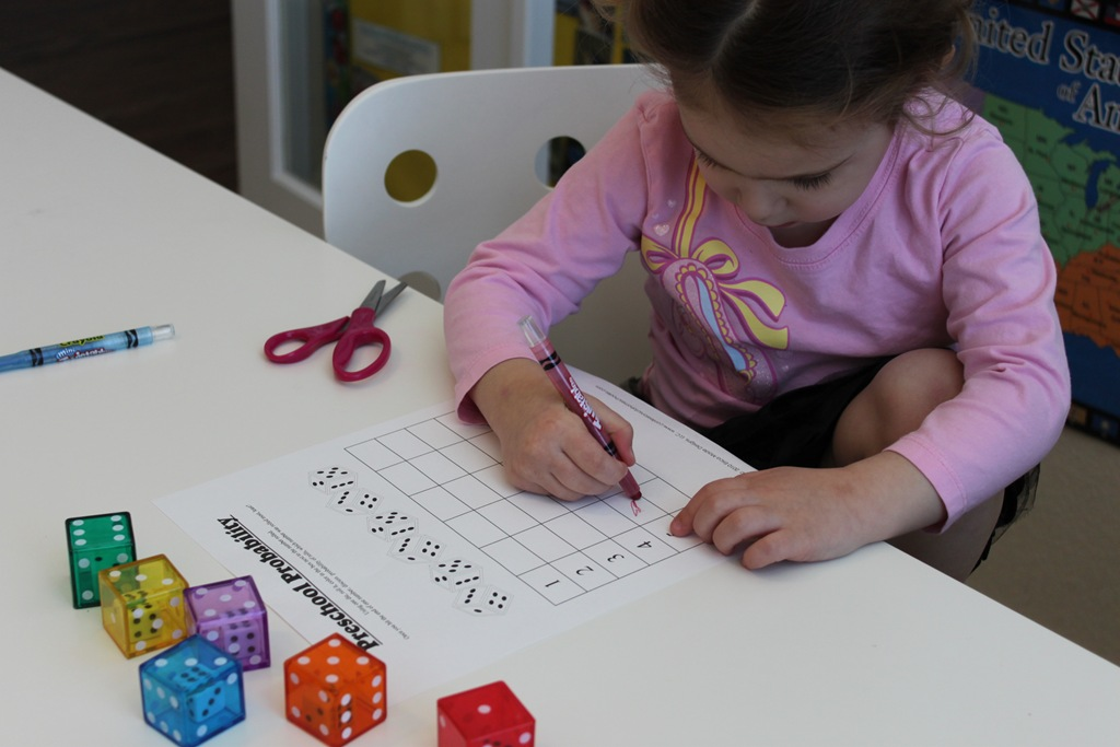 math worksheet : dice  domino math fun!  confessions of a homeschooler : Dice Addition Worksheet
