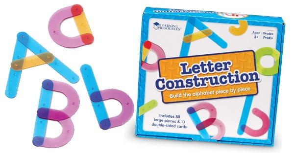 Letter Construction Kit Giveaway