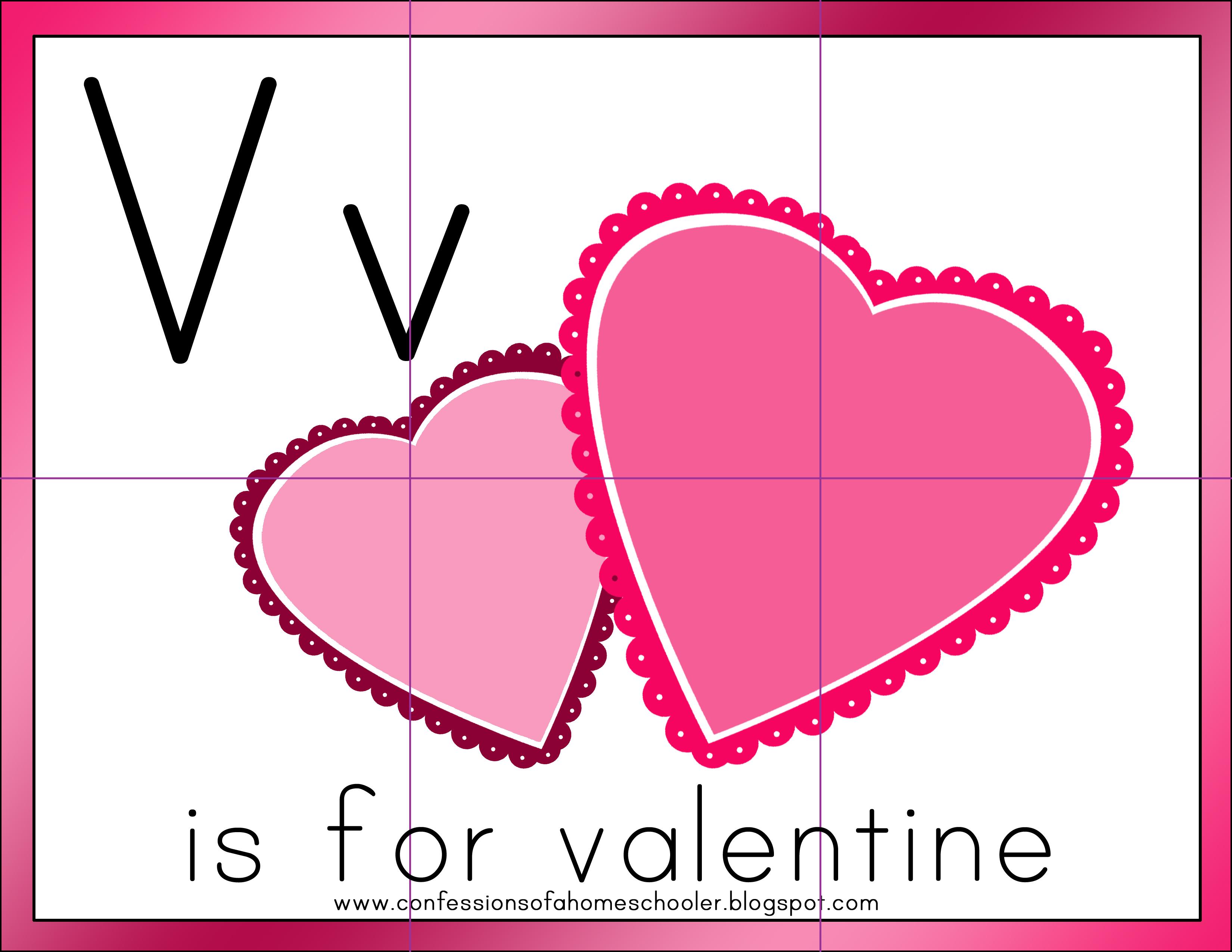 Valentine's Day Preschool Activities & Printables