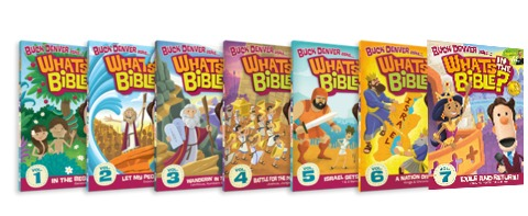 What's In The Bible DVD Giveaway!