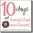 10 Days of Homeschooling Blog Hop Coming Soon!