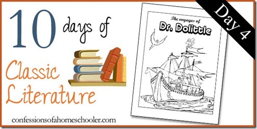The Voyages of Doctor Dolittle ~ Unit Study