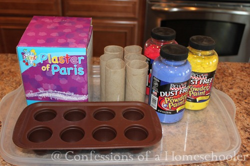 Homemade Sidewalk Chalk Confessions Of A Homeschooler