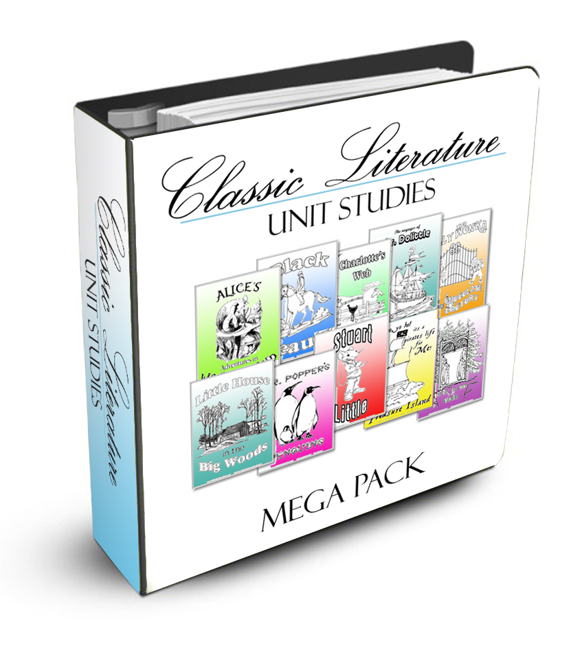 Classical Literature Unit Study Combo Pack