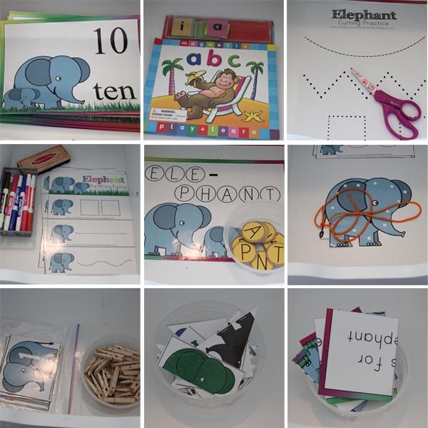 Preschool Letter E Activities