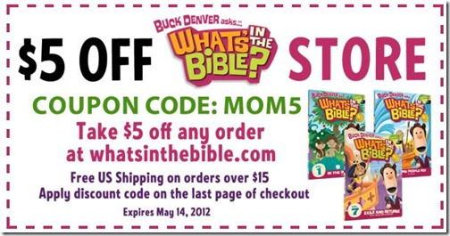 What's in the Bible Mother's Day Goodies!