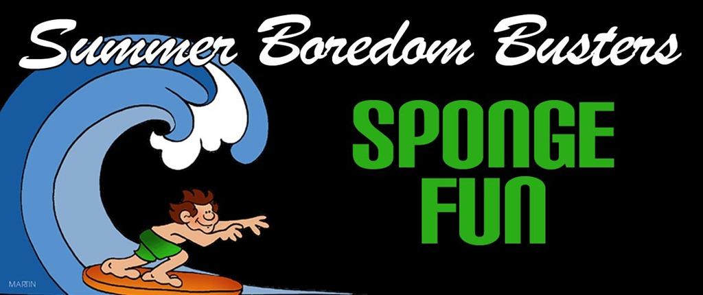 Summer Boredom Busters: Sponge Fun