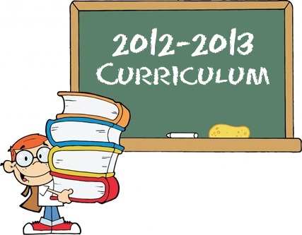 Our Curriculum 2012-2013