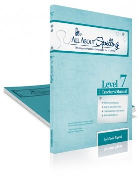 All About Spelling Level 7 DISCOUNT!