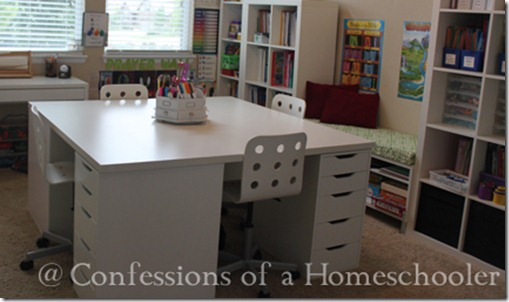 Homeschool Room Tour Video!