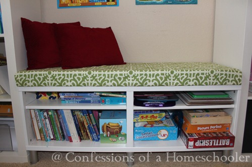 Homemade Reading Bench Tutorial
