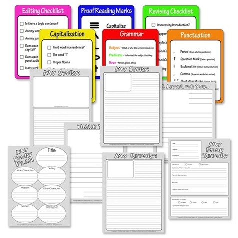 Free Story Writing Printables - Confessions Of A Homeschooler