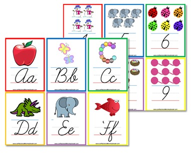 Alphabet Flashcards & Wall Posters - Confessions of a