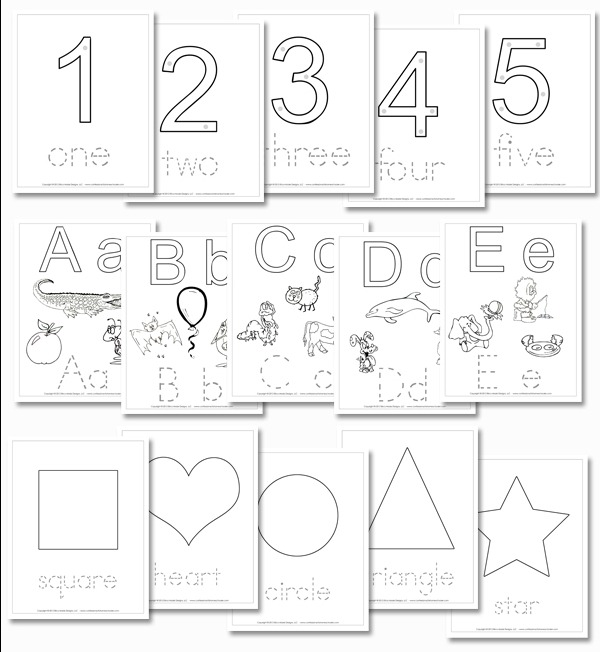 Updated Preschool Daily Learning Notebook
