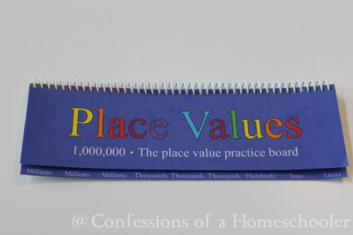 Place Value Practice Board