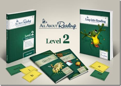 All About Reading Level 2 GIVEAWAY!