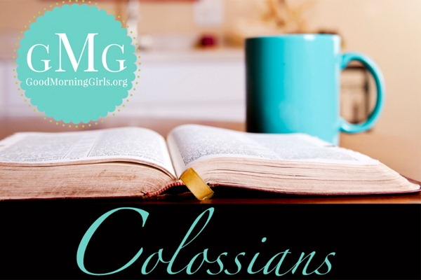 GMG Colossians Bible Study Group