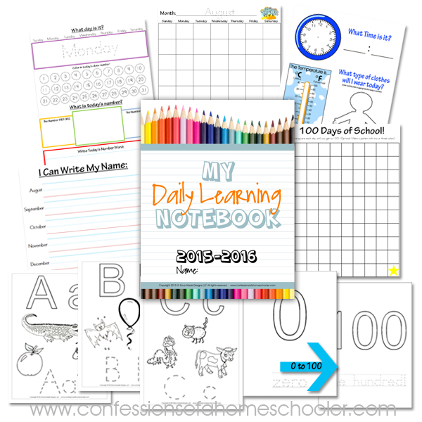 Elementary Daily Learning Notebook