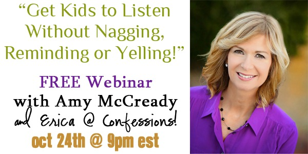 Get Kids to Listen Without Nagging Webinar!