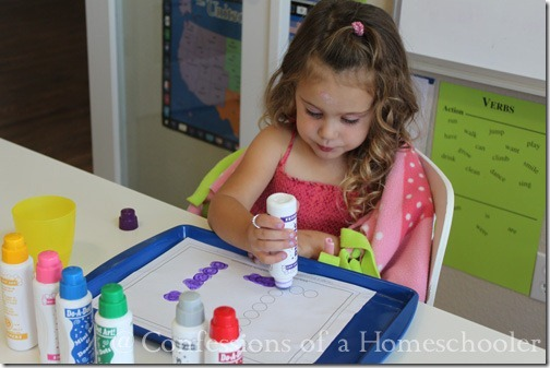 A-Z Do-A-Dot Worksheets - Confessions of a Homeschooler