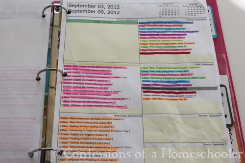 Homeschool Storage and Record Keeping 2013