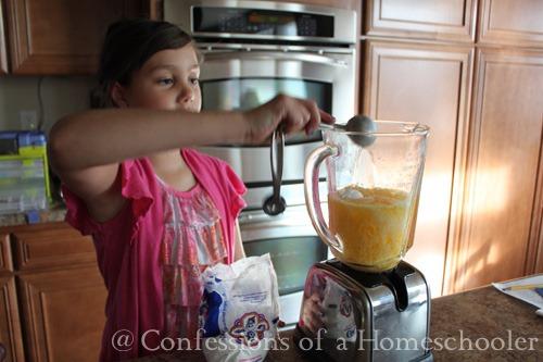 Orange Smoothie Recipe