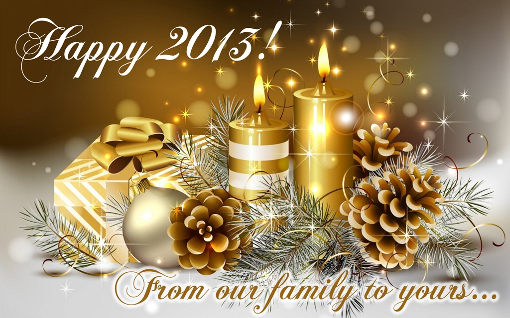 Happy New Year ~ 2013!