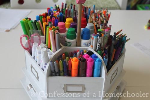 Homeschool Supplies & Organization