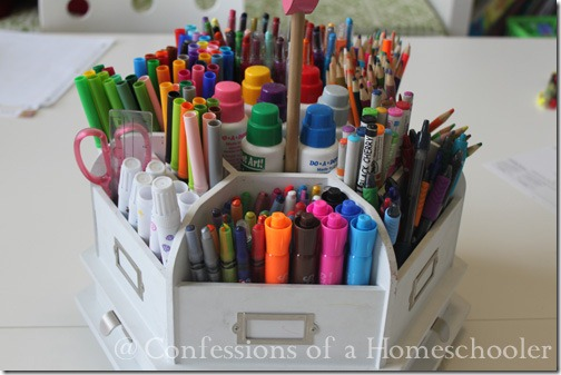 Homeschool Supplies Amp Organization Confessions Of A