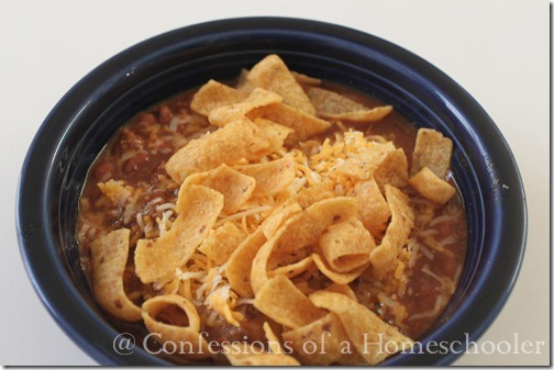 Homemade Chili Recipe for Kids!