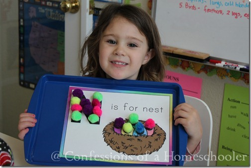 Letter N Preschool Activities   Confessions of a Homeschooler