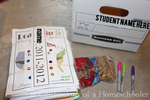 Homeschool Storage Solutions: Long Term